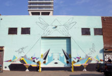 Flying Hands Mural