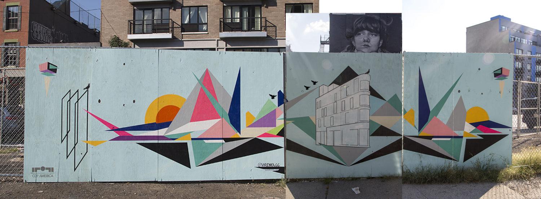 113 Broadway mural